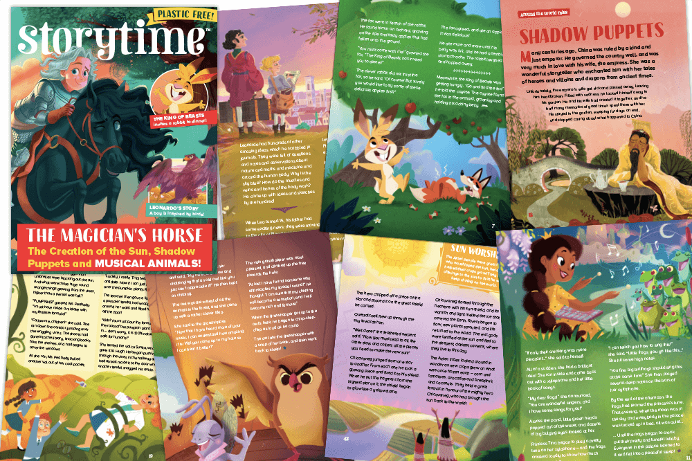 Storytime Issue 80 Out Now